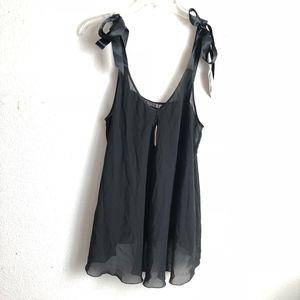 NWT black Victoria's Secret nightie size L